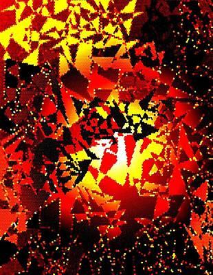 Digital Art - Luminous Energy 24 by Will Borden