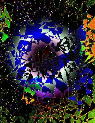 Luminous Digital Art - Luminous Energy 27 by Will Borden