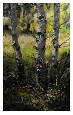 Nederland Painting - Luminous Near Nederland by Mark Oehlert