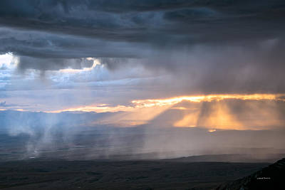 Photograph - Luminous Storm by Leland D Howard