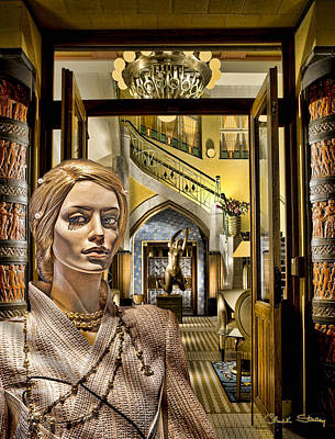 Photograph - Luna At The Prague Hotel by Chuck Staley