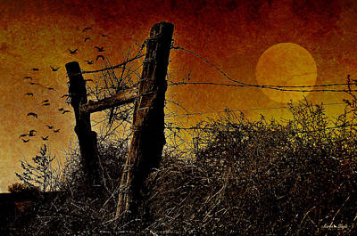 Luna De Sangre Art Print by Karen Slagle