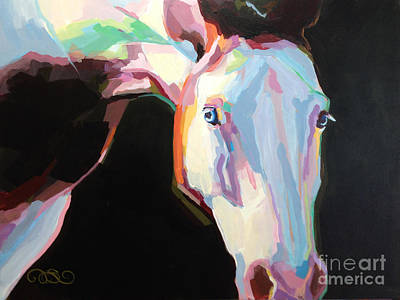 Paint Horse Art Painting - Luna Iv by Kimberly Santini