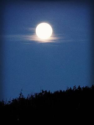 Under The Moon Wall Art - Photograph - Luna Llena by Zinvolle Art