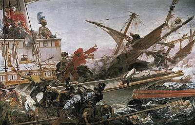 Luna Y Novicio, Juan 1857-1899. Naval Art Print by Everett