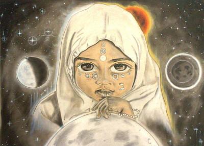 Lunar Ba Princess Original by Iyosef  Tafari