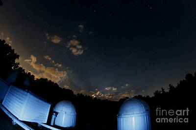 Moon Beams Photograph - Lunar Crepuscular Rays by John Chumack