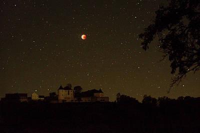 2000s Photograph - Lunar Eclipse by Eckhard Slawik