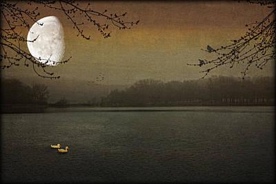 Lunar Lake Art Print by Tom York Images