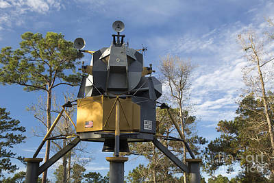 Photograph - Lunar Lander by Jim West
