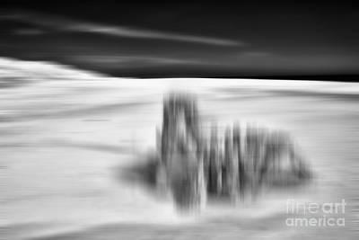 Photograph - Lunar Landing - A Tranquil Moments Landscape by Dan Carmichael