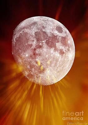 Photograph - Lunar Lights by Debbie Portwood