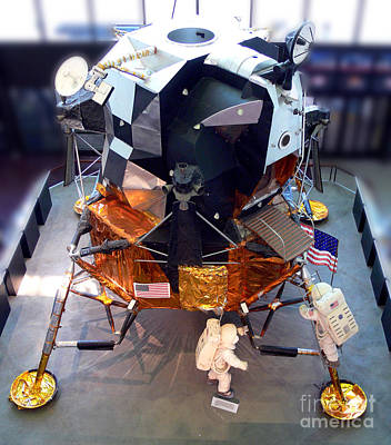 Smithsonian Museum Wall Art - Photograph - Lunar Module by Kevin Fortier