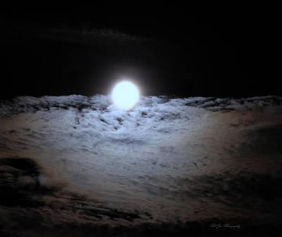 Photograph - Lunar Ocean by Jeanette C Landstrom