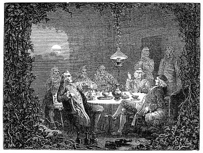 18th Century Photograph - Lunar Society Meeting by Science Photo Library