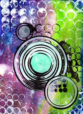 Lunar Speakers Art Print