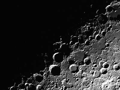 Amateur Astronomy Photograph - Lunar X by John Chumack