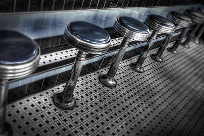 Digital Art - Lunch Counter by Patrick Groleau