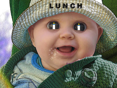 Photograph - Lunch by EricaMaxine  Price