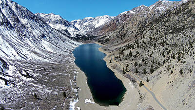 Bridgeport California Photograph - Lundy Lake by David Levy