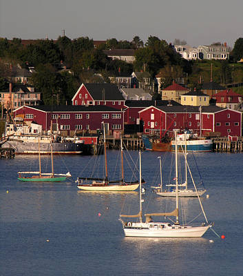 Photograph - Lunenburg Harbor 2 by Robert Lozen