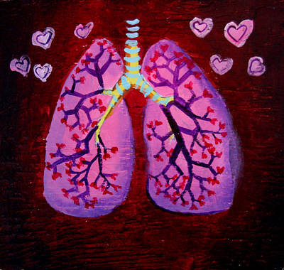 Painting - Lungs by Khryztof Holtwick