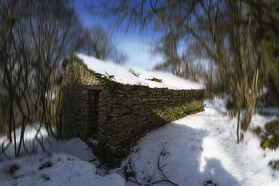 Photograph - Luoghi Abandoned Villages On Winter Time - Inverno Nei Paesi Abbandonati 11 by Enrico Pelos