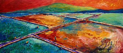 Philippine Art Painting - Lupa Lang Ang May Pahinga by Paul Hilario