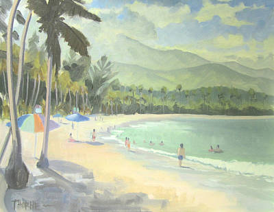 Puerto Rico Painting - Luquillo Beach by Marcus Thorne