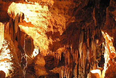 Cave Photograph - Luray Caverns - 1212151 by DC Photographer