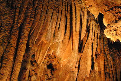Caves Photograph - Luray Caverns - 1212153 by DC Photographer