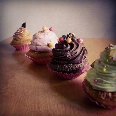 Fairy Photograph - Luscious Cupcakes by Barbara Orenya