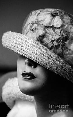 Pasta Al Dente - Luscious Lips and a Floral Hat by Robert Yaeger