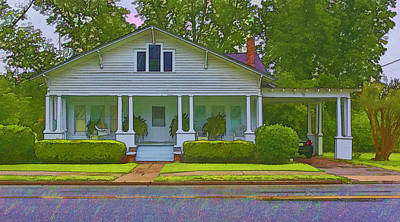 Photograph - Lush Home In Rural Small Town by Gregory Scott