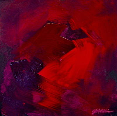 Cadmium Red Painting - Lush Reds by Jim Ellis