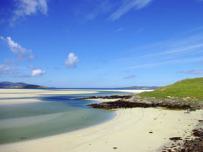 Art Print featuring the photograph Luskentyre Paradise by Jacqi Elmslie