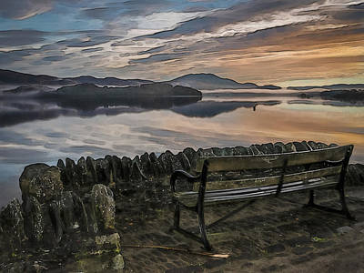 Photograph - Luss Loch Lomand 2 by Alex Saunders