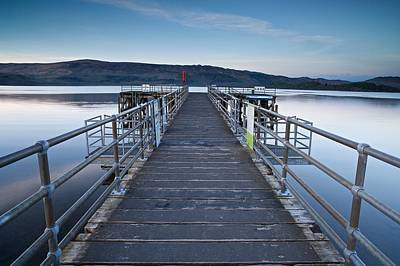 Photograph - Luss Pier by Stephen Taylor