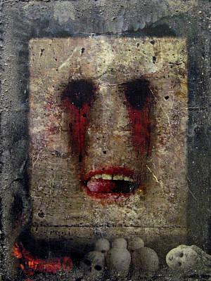 Hunger Digital Art - Lust - The 7 Contemporary Sins by Janelle Schneider