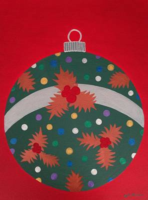 Gleam Painting - Lustrous Bauble by April Mickens