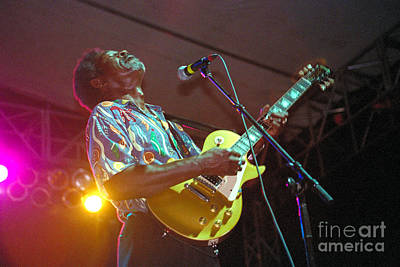 Gingrich Photograph - Luther Allison-1 by Gary Gingrich Galleries