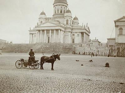 Lutheran Cathedral In Helsinki, Finland, Henry Pauw Van Print by Artokoloro