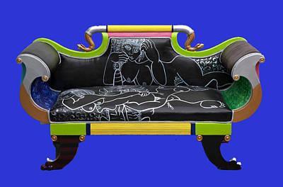 Luv Seat Art Print