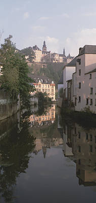 Luxembourg Photograph - Luxembourg, Luxembourg City, Alzette by Panoramic Images