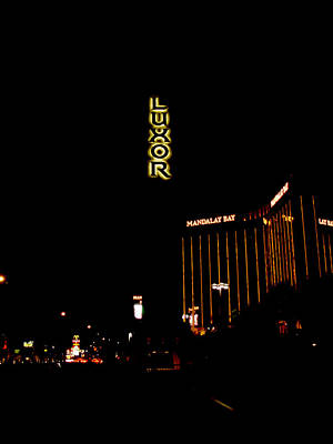 Photograph - Luxor Hotel And Casino by Mieczyslaw Rudek