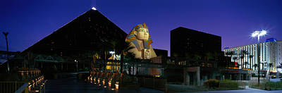 Luxor Hotel Las Vegas Nevada Usa Art Print by Panoramic Images