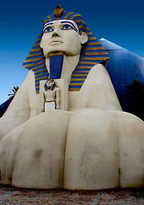 Photograph - Luxor Sphinx by Ricardo J Ruiz de Porras
