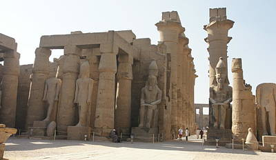 Luxor Temple Art Print