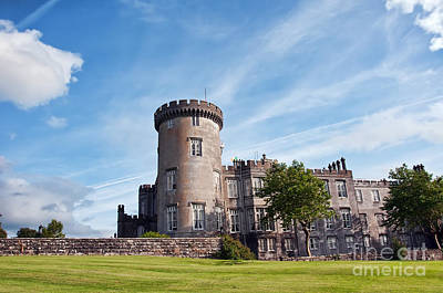 Luxury Dromoland Castle County Clare Ireland Art Print by Noel Moore