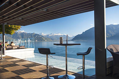 Photograph - Luxury Swiss View by Rob Hemphill
